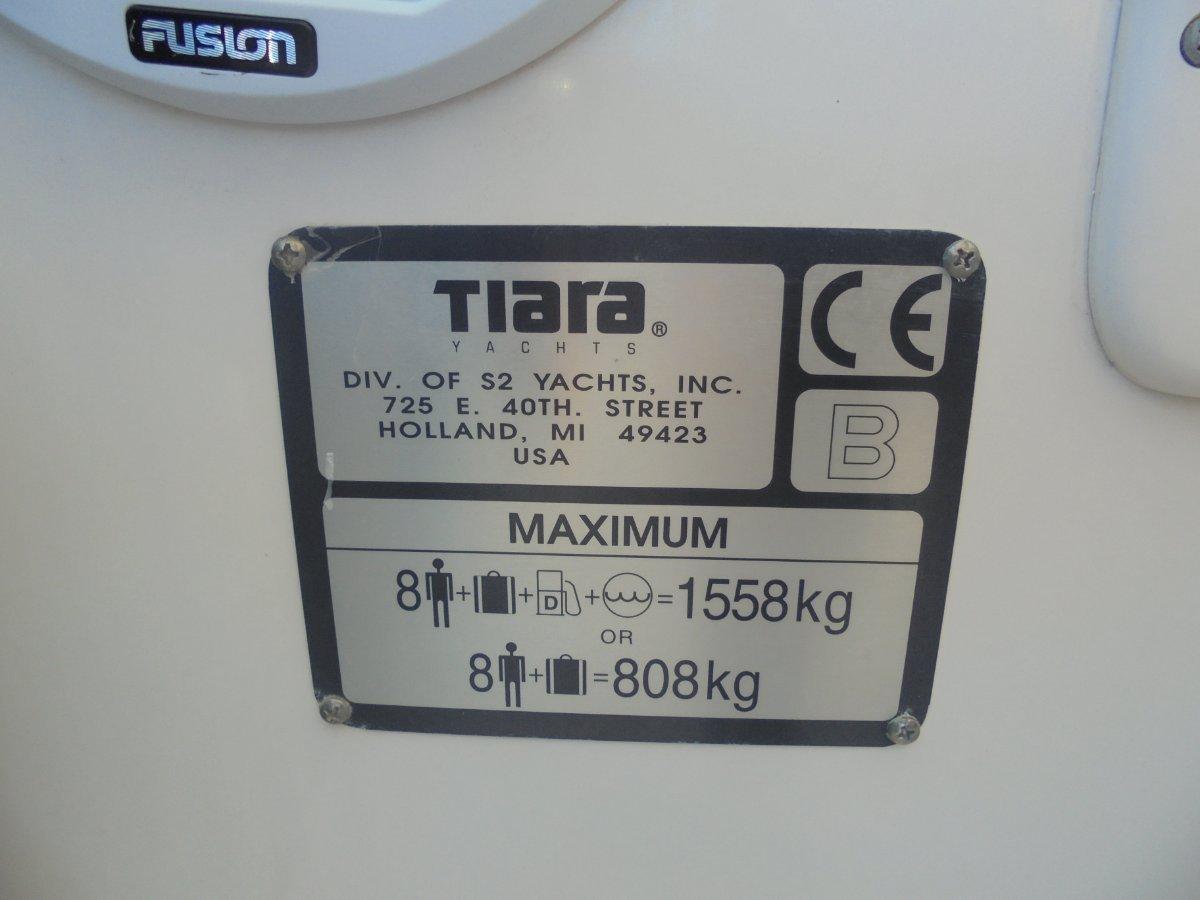 Tiara 2900 Coronet - 2006 MY