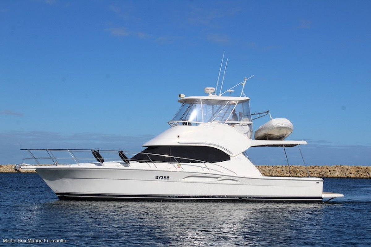 Riviera 40 Flybridge Extended to a 43