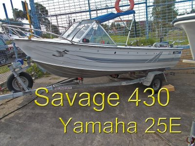 Savage 430 Gannet FISHING MACHINE WITH THE LOT