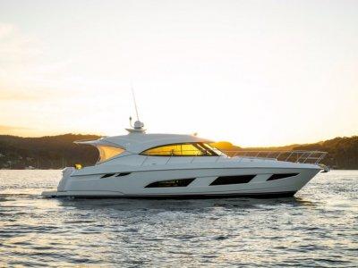 Riviera 4800 Sport Yacht 3 Years Volvo/Garmin Warranty