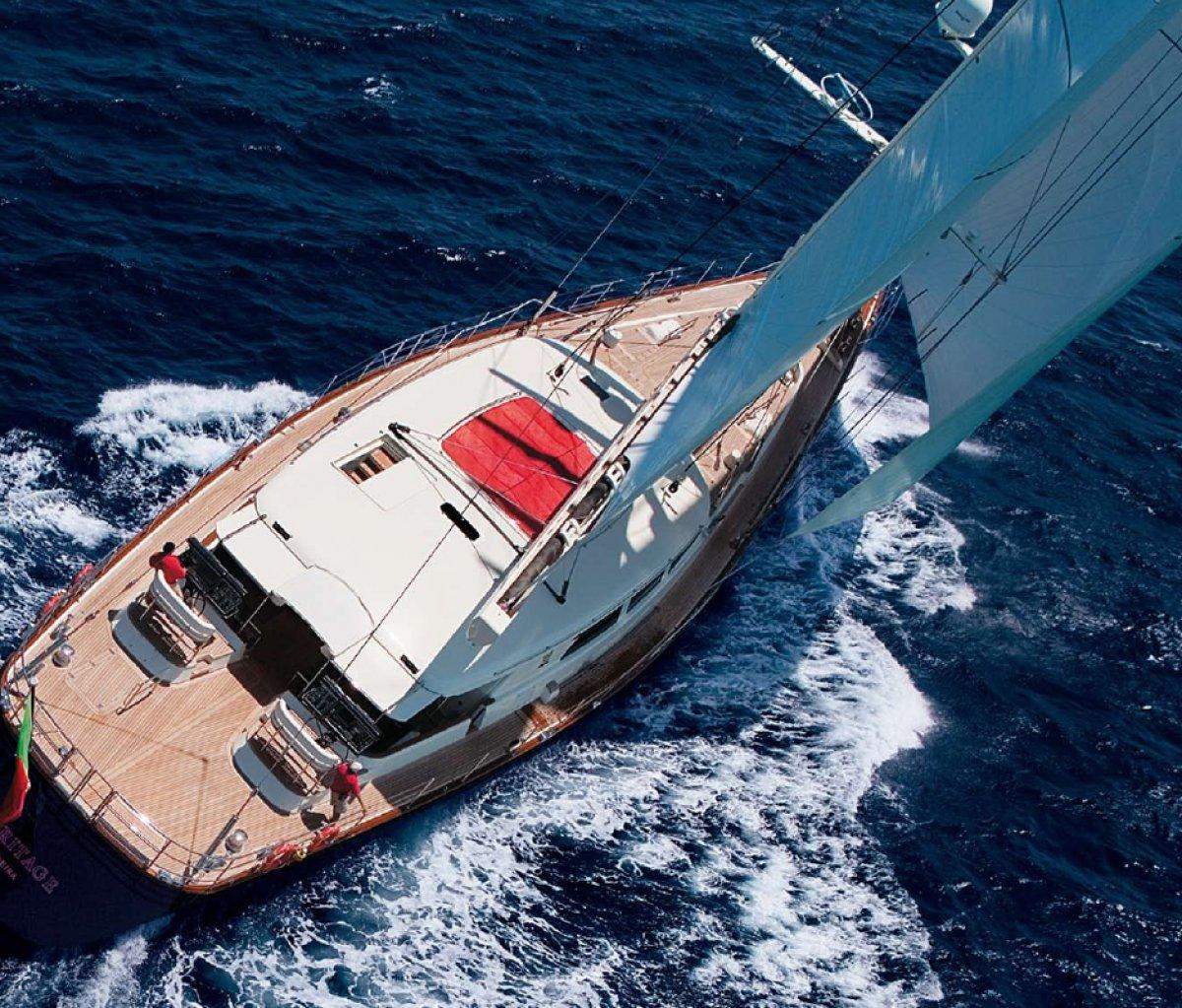 Perini Navi Heritage 45 Superyacht