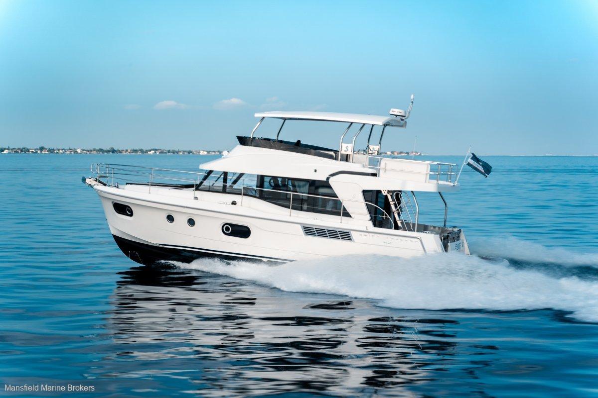 New Beneteau Swift Trawler 47:Cruise for days......