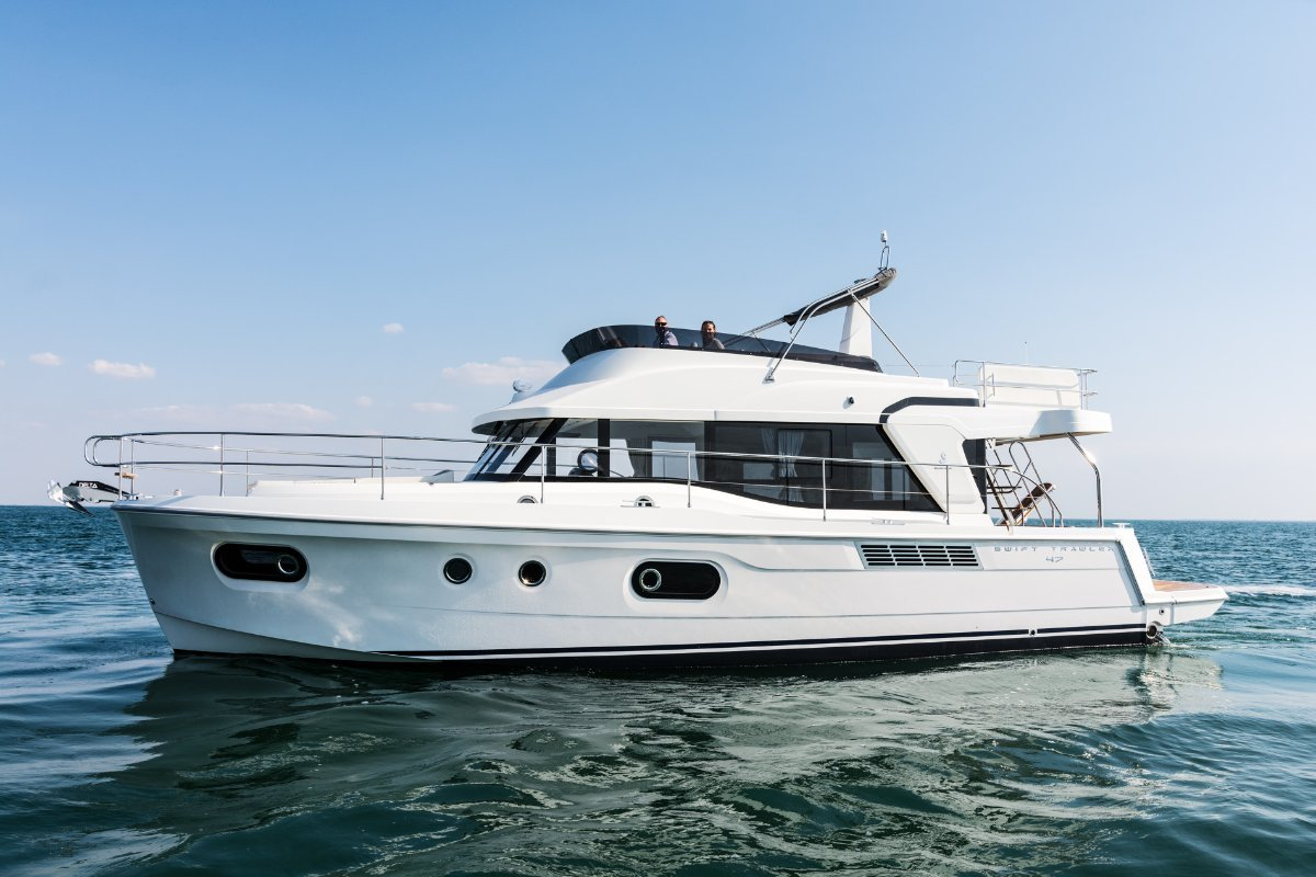 New Beneteau Swift Trawler 47:Available with or without Hardtop