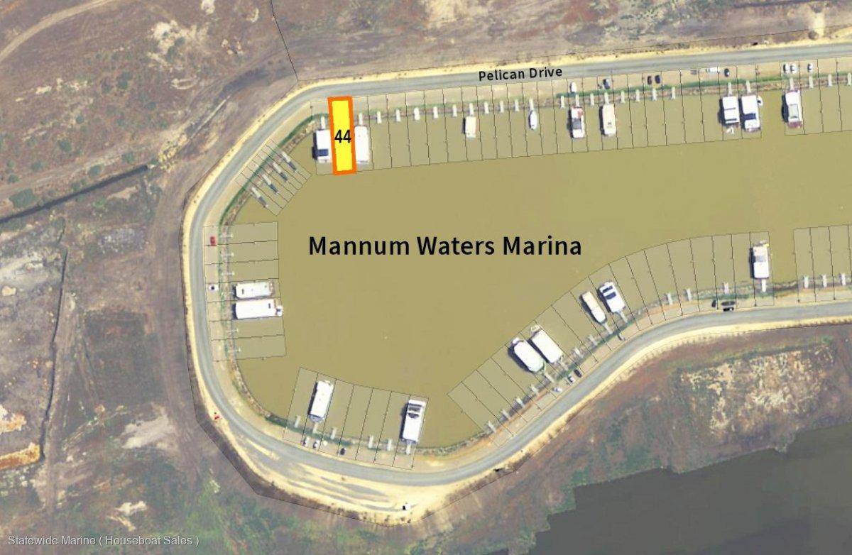 Berth - Premium Position in Mannum Waters Marina