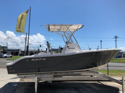 Sea Fox 206 Commander - Jetty Grey