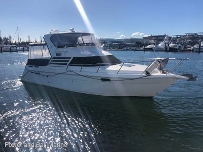 Seaquest 3000 Diesel Flybridge Bow thruster, Diesel and low hours!