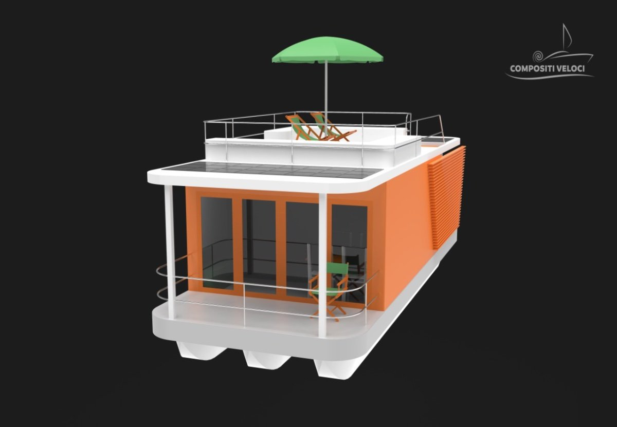 10m House Boat