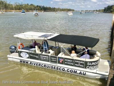 Pontoon Charter Boat- Click for more info...