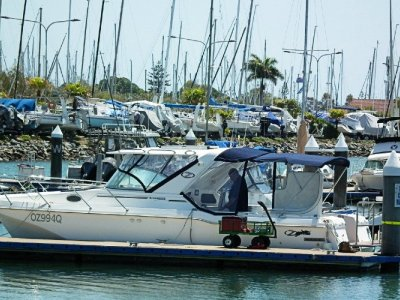 Ozycat 2600 Bluewater Powercat