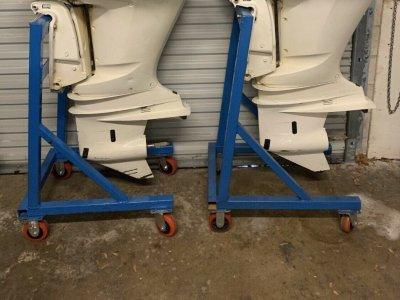 Used Yamaha Pair 300 hp Fourstroke xca outboard 4 Stroke