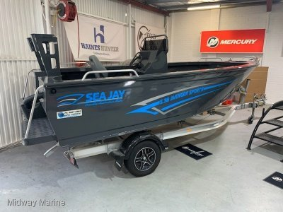 Sea Jay 5.38 Avenger Sports... HULL ONLY $20k