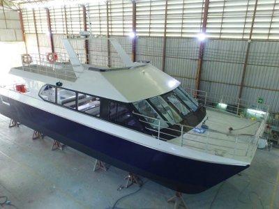 Seacat Powered Catamaran New Listing