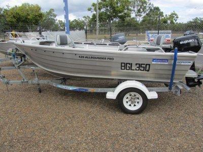 Horizon Aluminium Boats 420 Allrounder Pro Full Floor