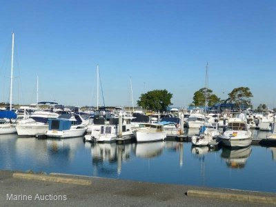 ONLINE AUCTION - Q74 14M MARINA BERTH HORIZON SHORES MARINA