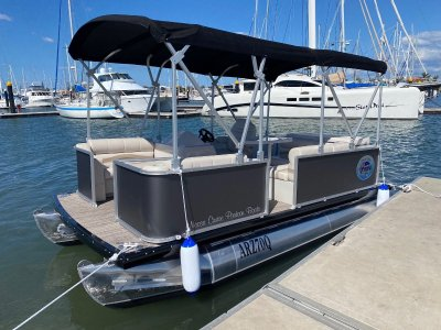 Noosa Cruise Pontoon Boats 1680 Premium Salt Water Series