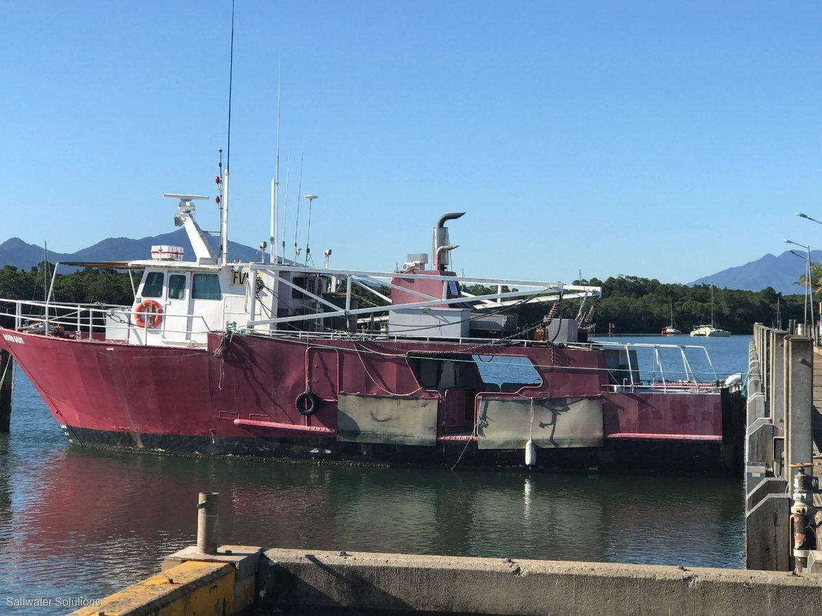 Steel fishing Live Coral Trout Trawler AquaSam