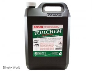 PETER G'S TOILET CHEM - 2.5 AND 5 LITRE