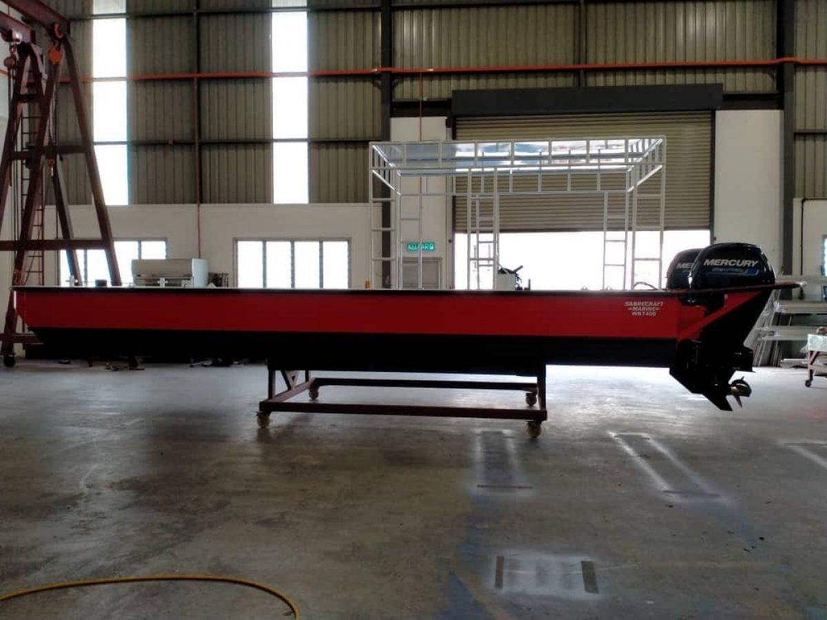New Sabrecraft Marine WB7400 Workboat Punt Oyster Punt