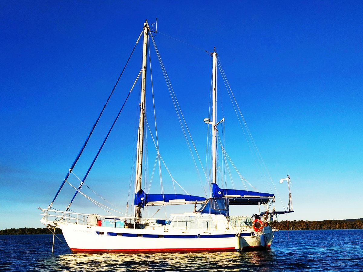 Colin Archer 45 Exceptional Cruising Ketch:New furlers