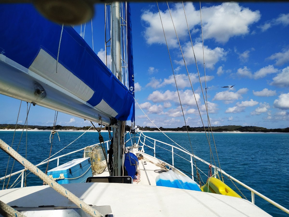 Colin Archer 45 Exceptional Cruising Ketch:New sail bags 2019