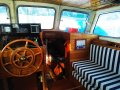 Colin Archer 45 Exceptional Cruising Ketch:pilot house with chart table