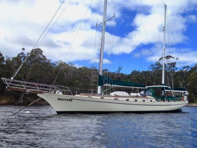 Herreshoff Bounty 65 EXCEPTIONAL MODERN CLASSIC KETCH WORLD CRUISER