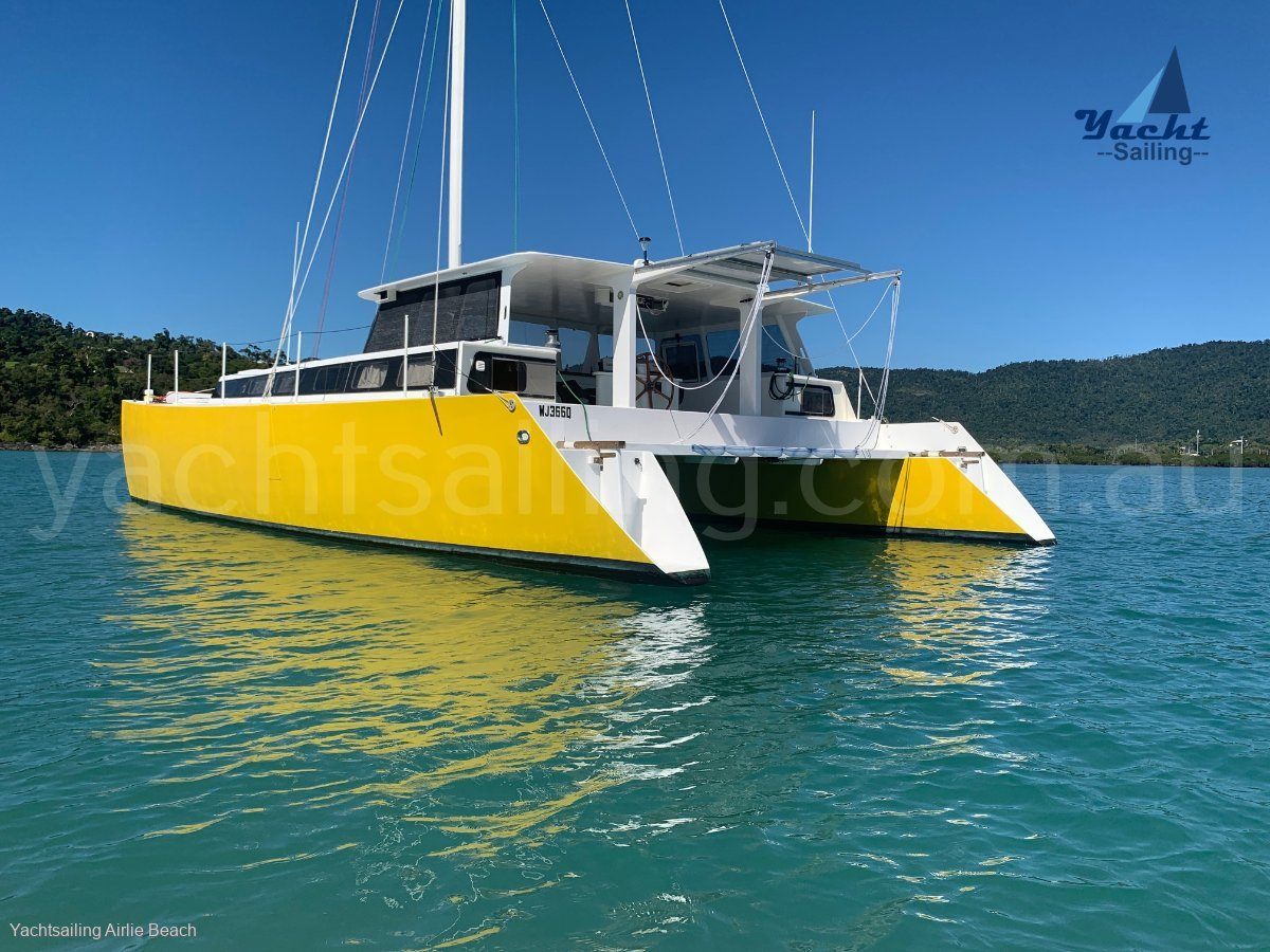 Custom Heron Designed and built Catamaran