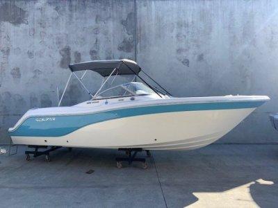 Sea Fox 226 Traveler Gulf Shores Blue Stripe