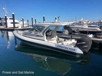 Protector 8.50 Cabin Extended hardtop- Click for more info...