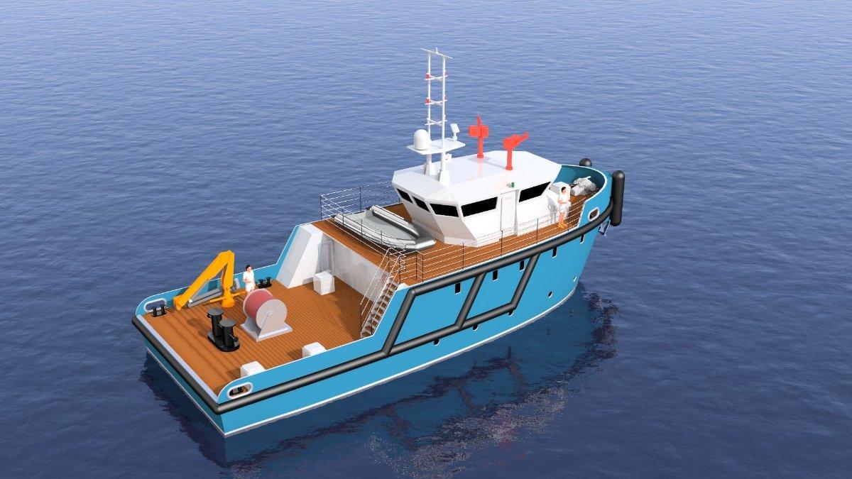 21.95m Multi Purpose Workboat