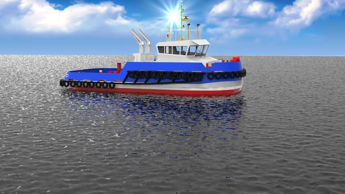 Sabrecraft Marine Tug Boat 26.00 Meter Harbour Tug Boat
