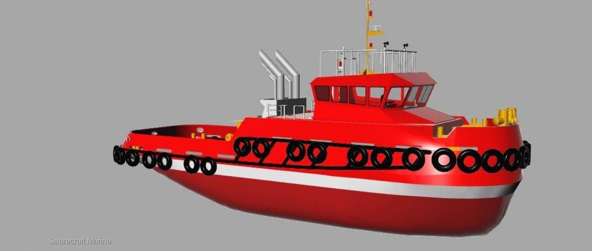 New Sabrecraft Marine 32.00 Meter Ocean Tug Boat