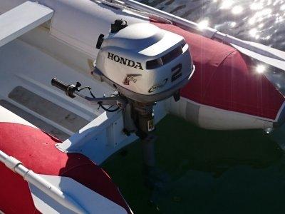 Honda 2HP Outboard 4 Stroke Boat Engine BF2D