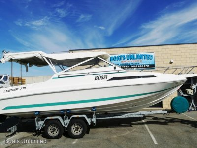 Leeder 710 Deluxe Hardtop OFFSHORE FISHING // FAMILY // ALL ROUNDER