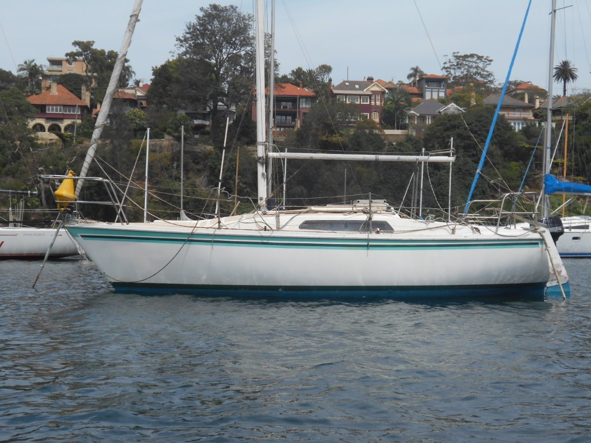 Cole 23 fixed keel production fiberglass yachts (sydney)