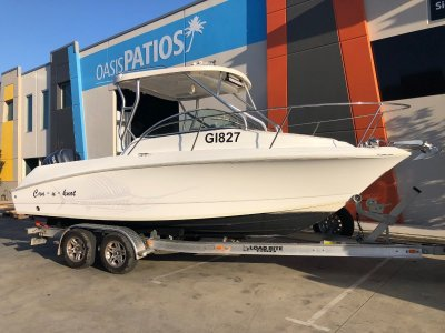 Wellcraft 232 Coastal with 2018 trailer and serviced 07/2020