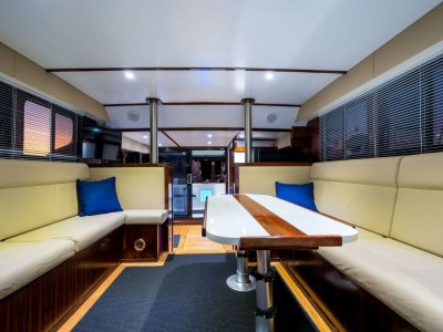 Sharpie Trawler beuatifuly restored