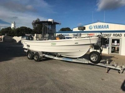Panga Longboats 6.8m