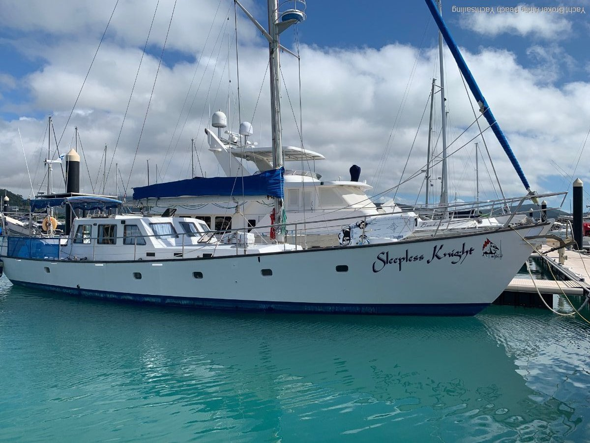 Agronaut 18 m Liveaboard World Cruiser