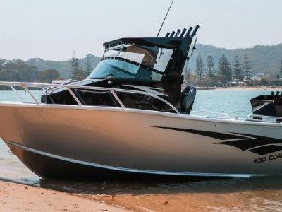Stessl 630 Coastrunner PLATE ALLOY Centre Cab 150 HP Yamaha 4 ST $68.000.