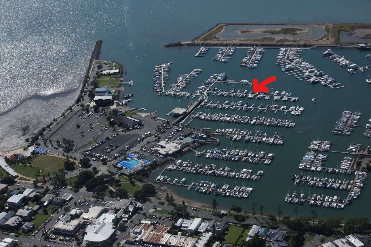 13.5m Catamaran Berth MBTBC Marina, Manly Harbour, Queensland