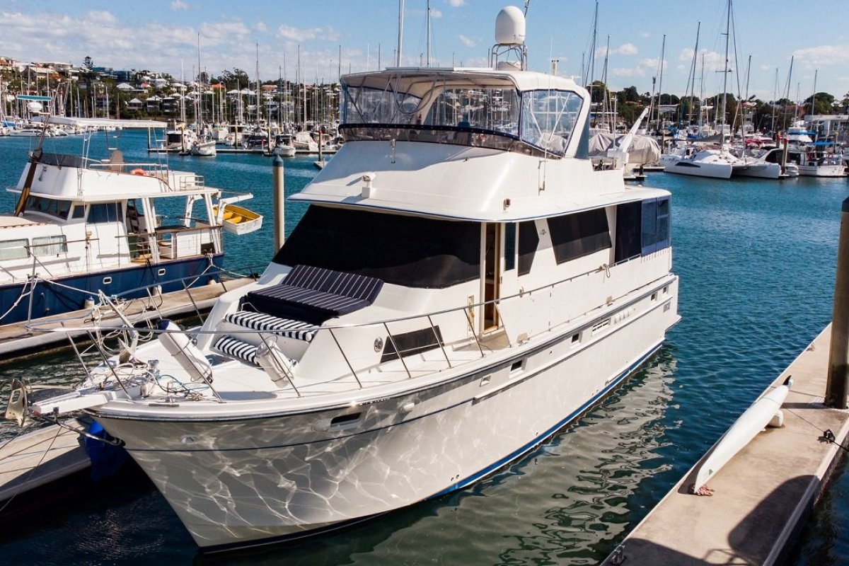 Defever 70 Motor Yacht - TRADES WELCOME