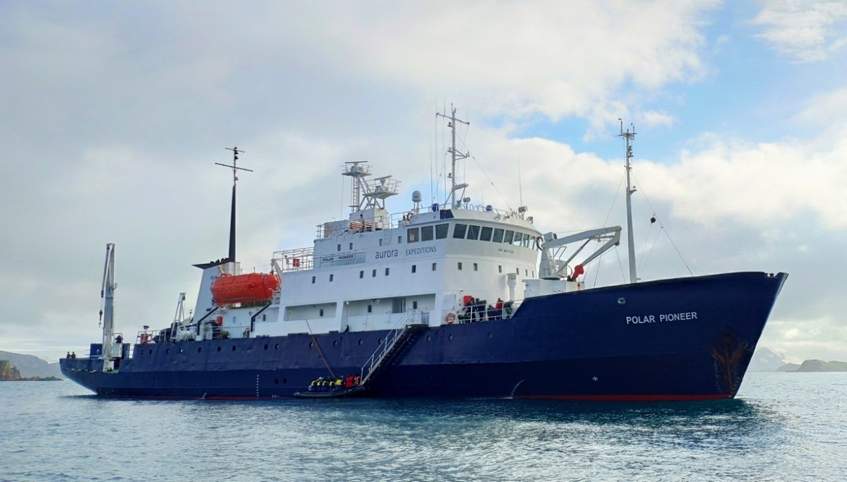 71.6m Ice Class Expedition Passenger Vessel
