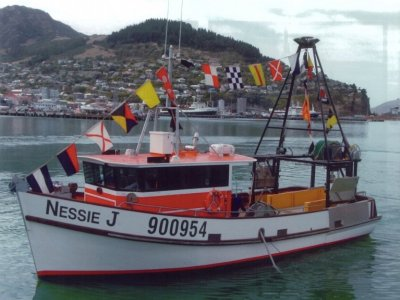 Stark Bros 13.3m High Quality Wooden Fishing Trawler