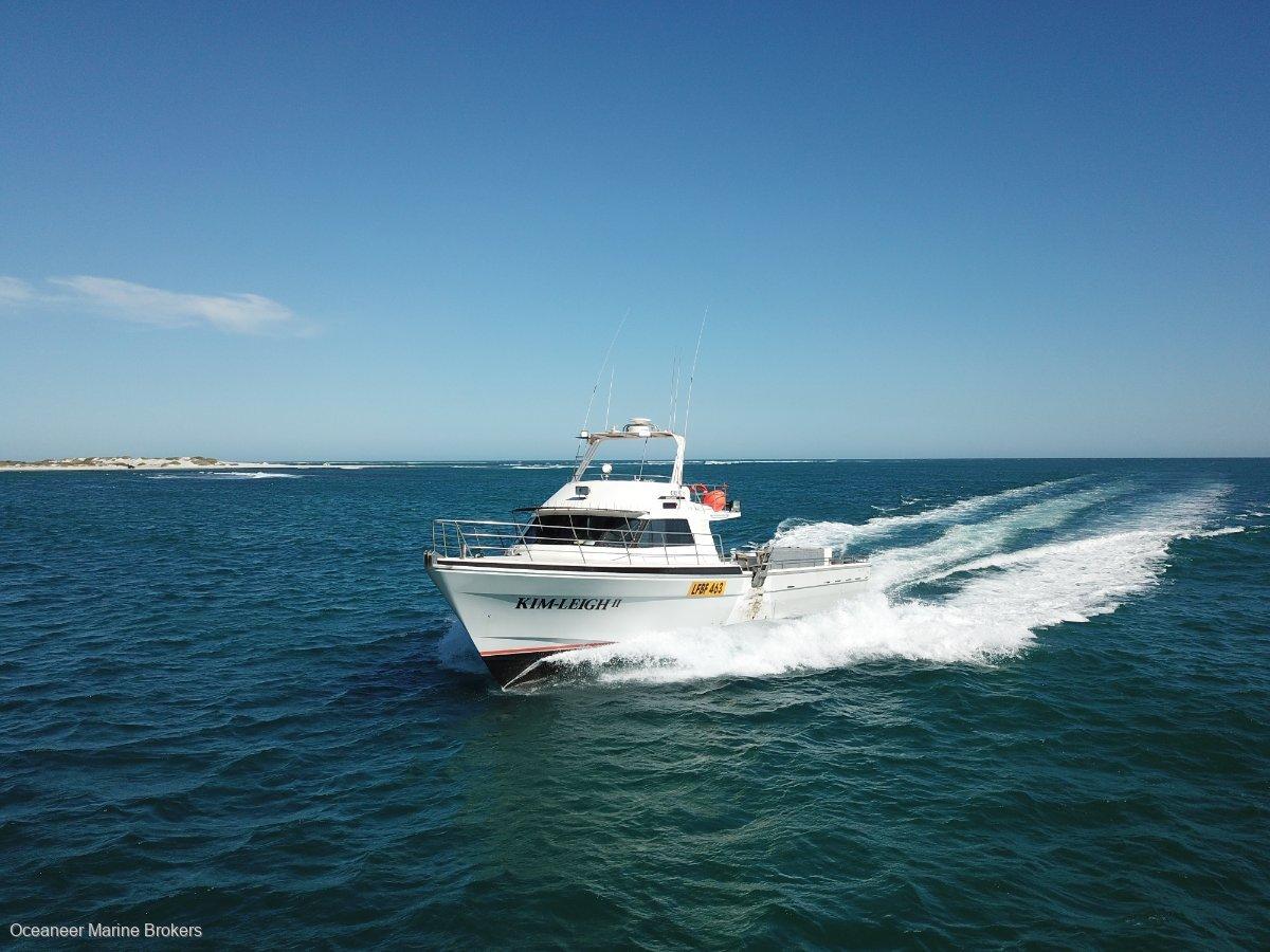 Freeman Bay Boats Built / Phil Curran Designed 65ft