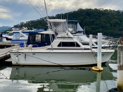 Savage 26 Flybridge Sports Fisher Cruiser (Shaft Drive)
