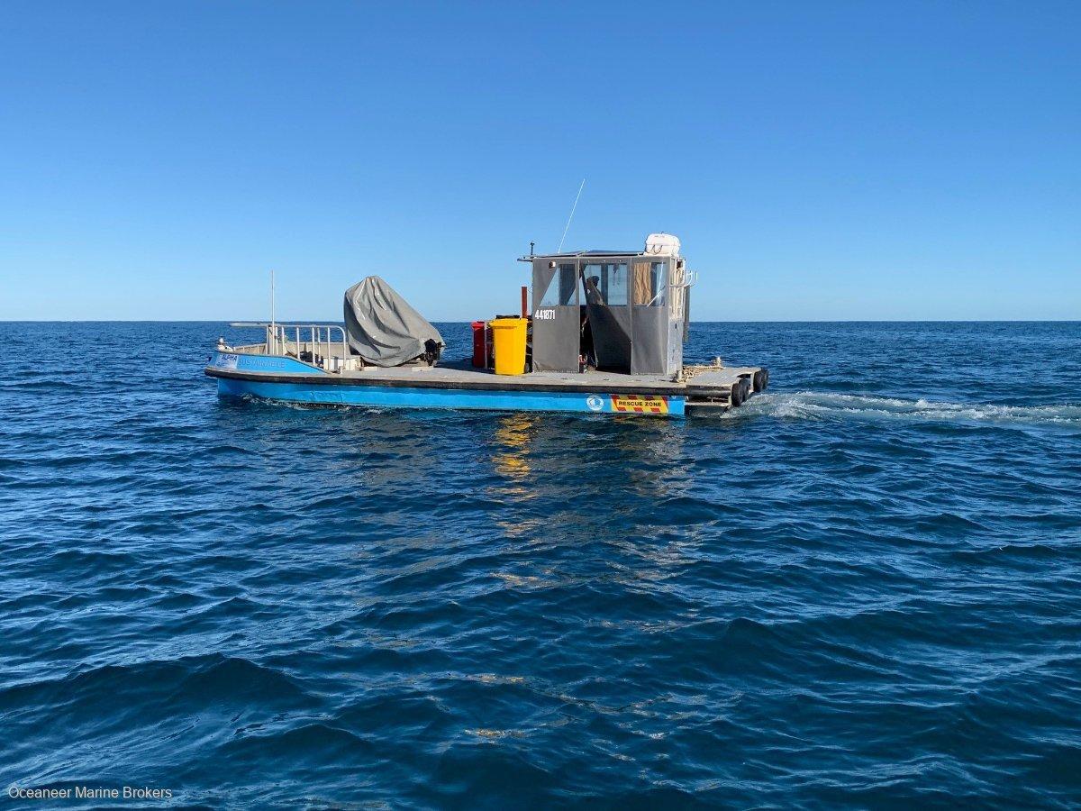 Alucraft 9.9m Work Boat