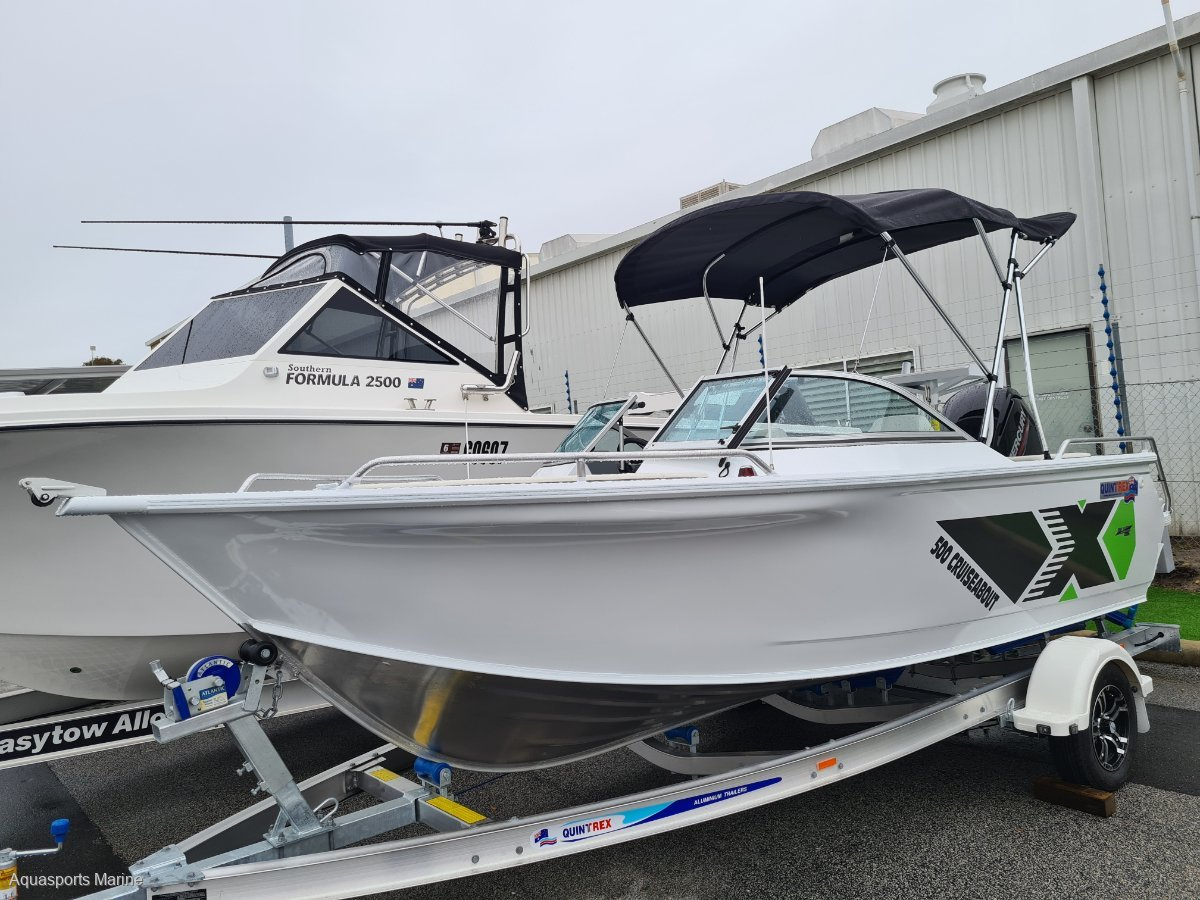 New Quintrex 500 Cruiseabout Bow Rider