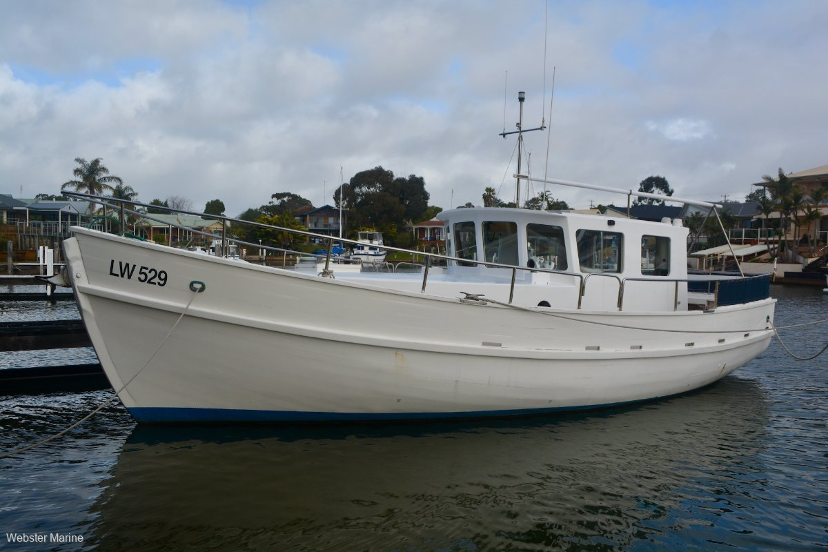 Converted Timber Cray Boat 33