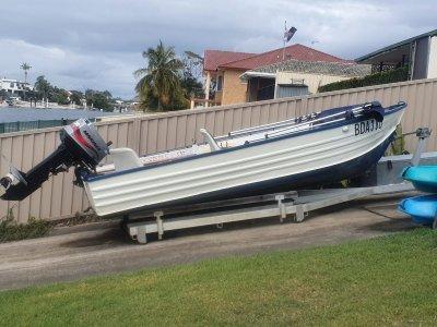 Boat Ramp Dolly & Winch